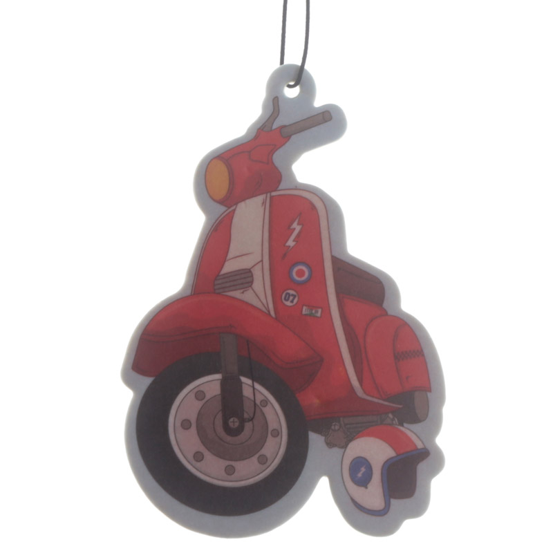 Fun Scooter Design Strawberry Scented Air Freshener
