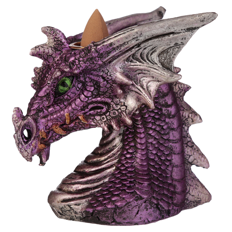 Backflow Incense Burner - Dragons Head