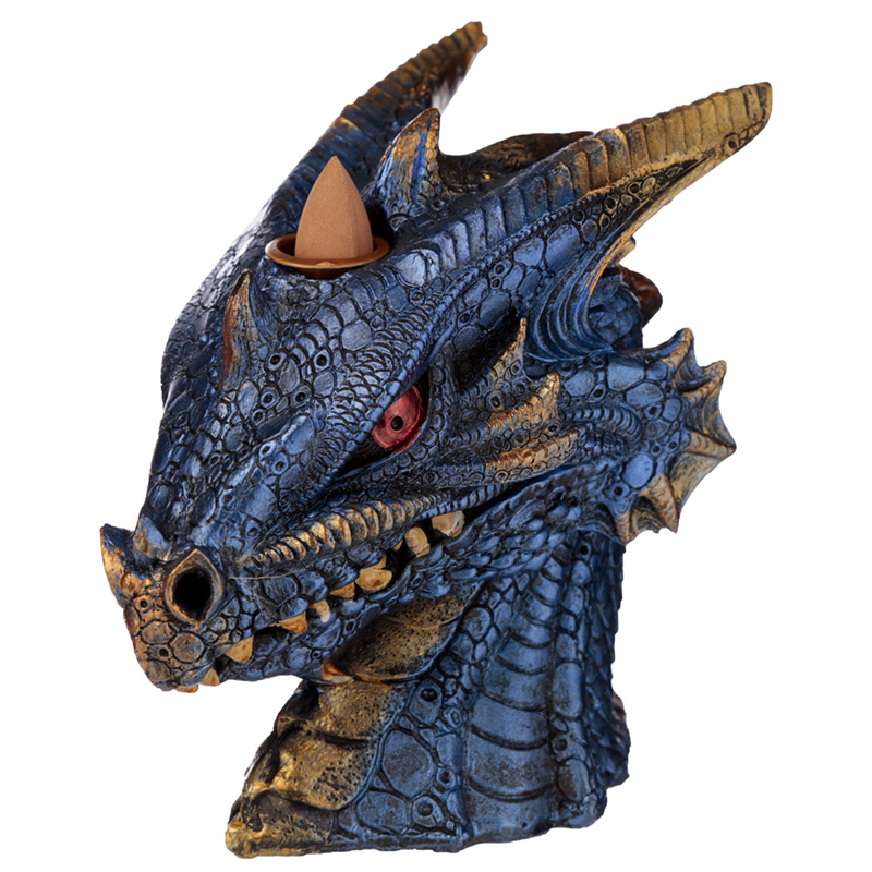 Backflow Incense Burner - Earth and Water Dragon