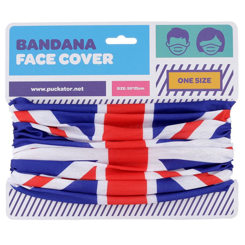 Union Jack Flag Neck Scarf Face Covering