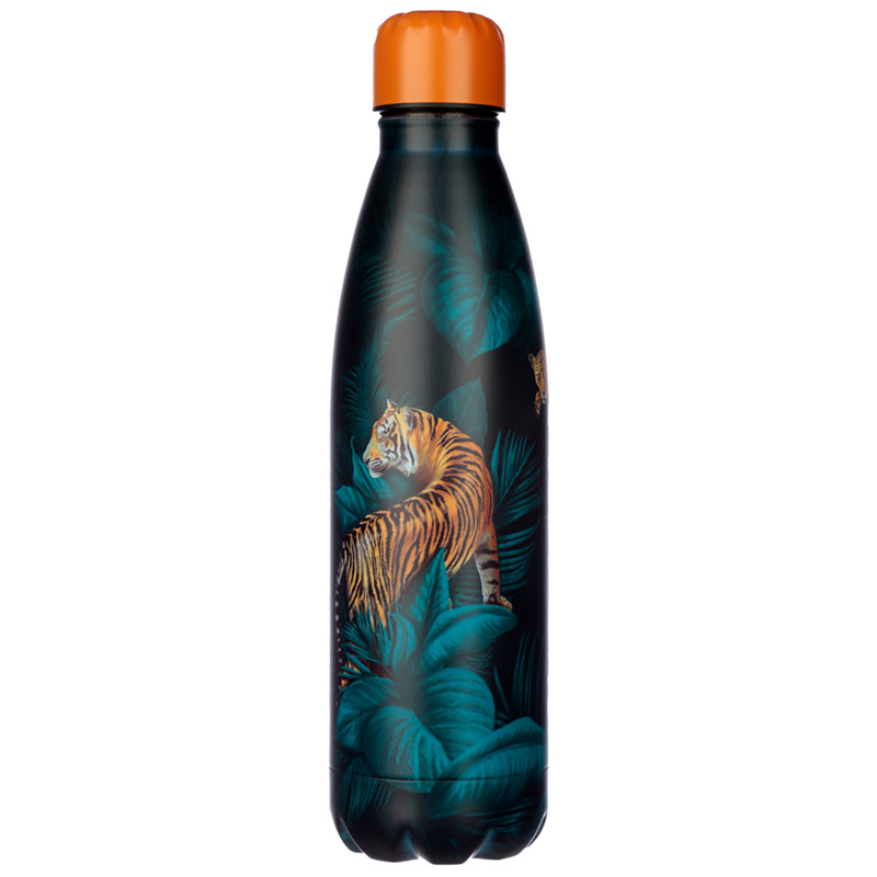 Big Cat Spots and Stripes Stainless Steel Insulated Drinks Bottle