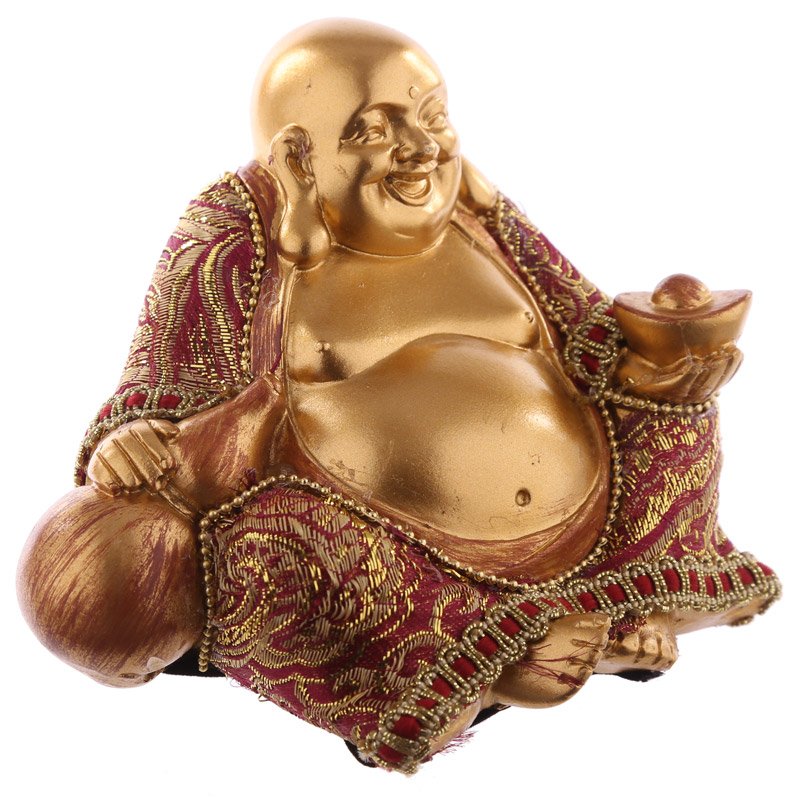 Decorative Chinese Buddha Figurine - Small
