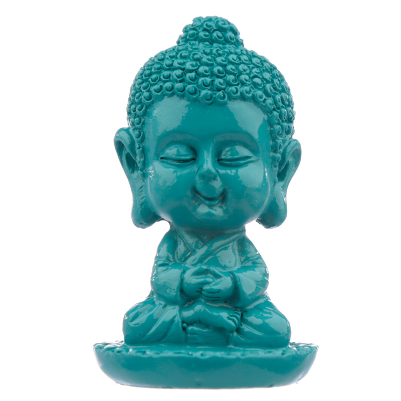 Decorative Pop Art Baby Buddha Incense Stick Burner
