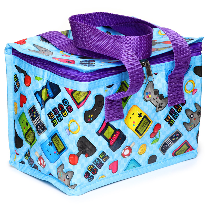 Game Over Girly Design Lunch Box Cool Bag