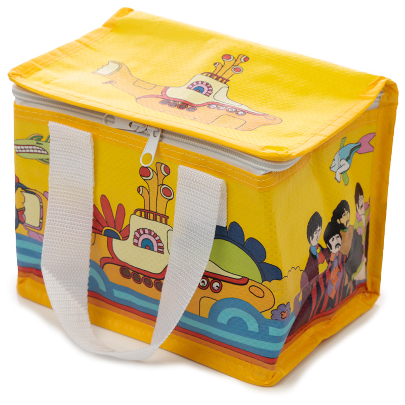 Yellow Submarine Lunch Box Picnic Cool Bag