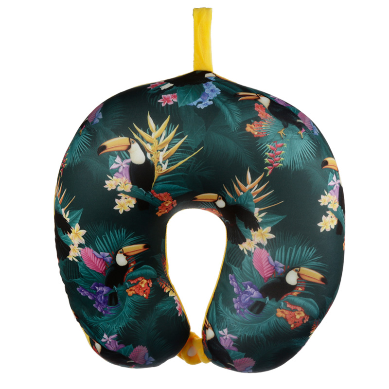 Toucan Party Relaxeazzz Travel Pillow & Eye Mask Set