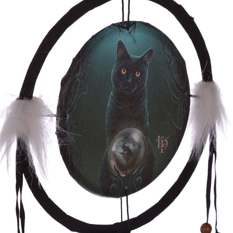 Lisa Parker Cat Design Rise of the Witches 16cm Dreamcatcher