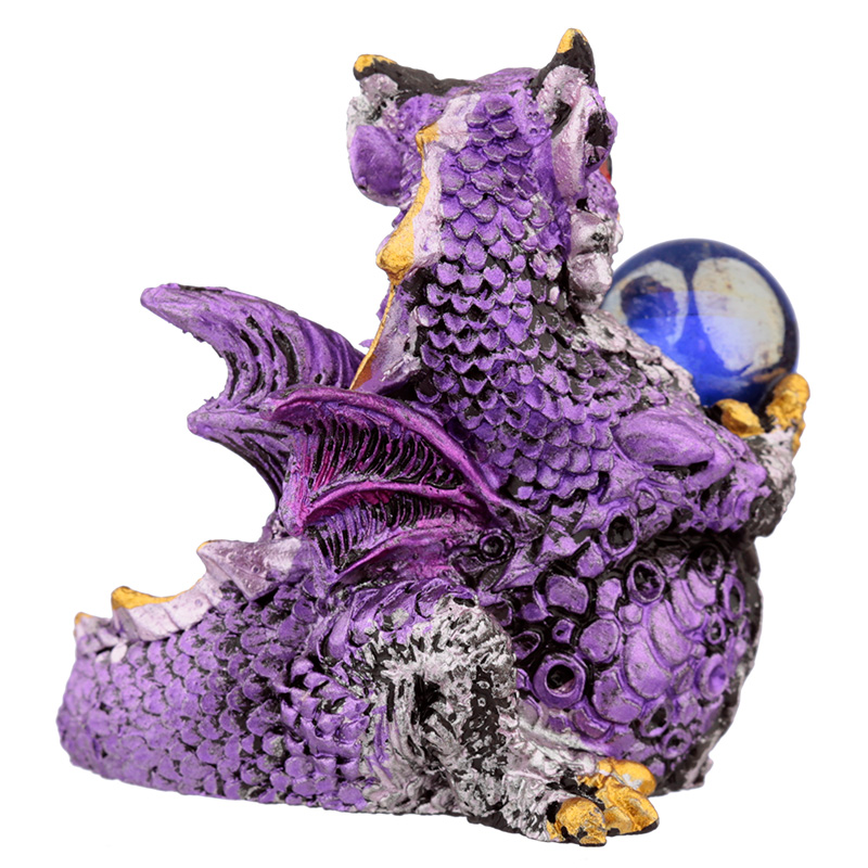 All Seeing Orb Elements Dragon Figurine