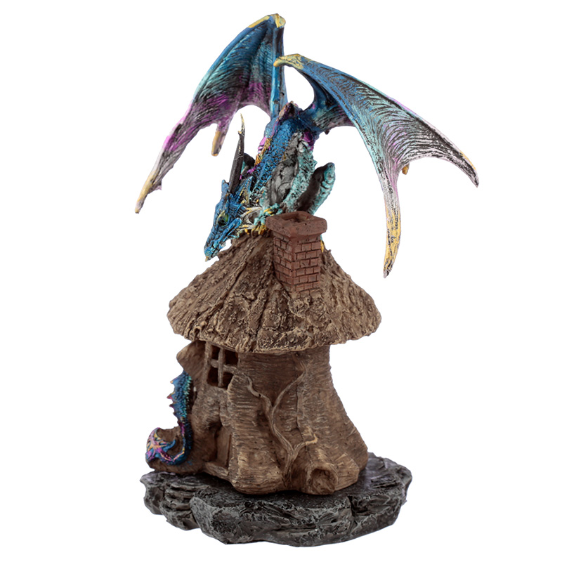 Forest Dweller Dark Legends Dragon Figurine