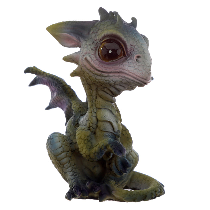 Cute Baby Sweet Dreams Dragon Figurine