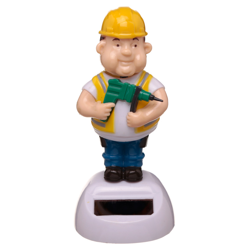 Collectable Builder Solar Powered Pal