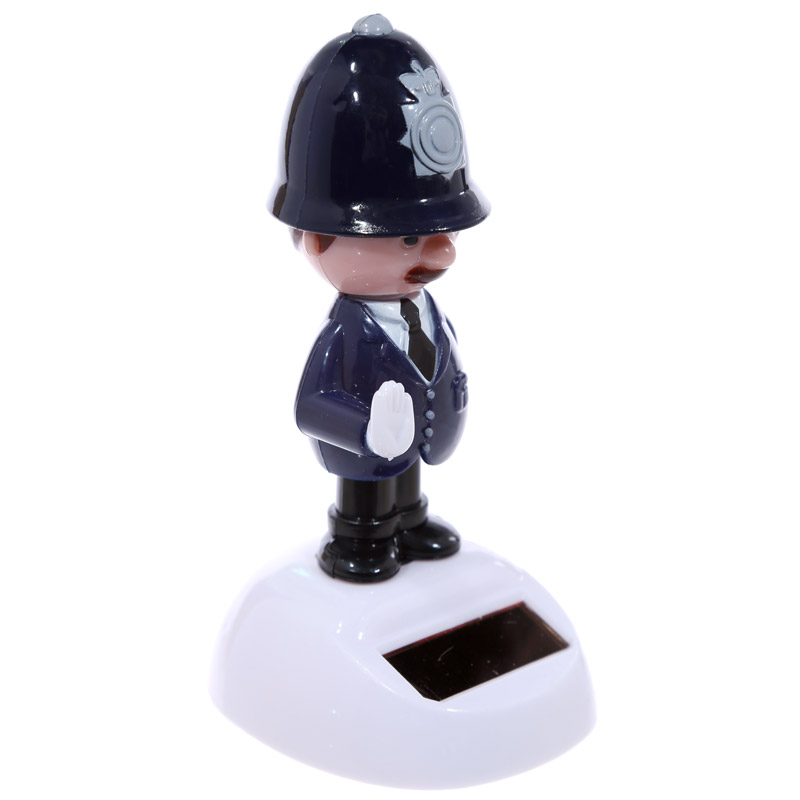 Novelty Policeman Solar Pal