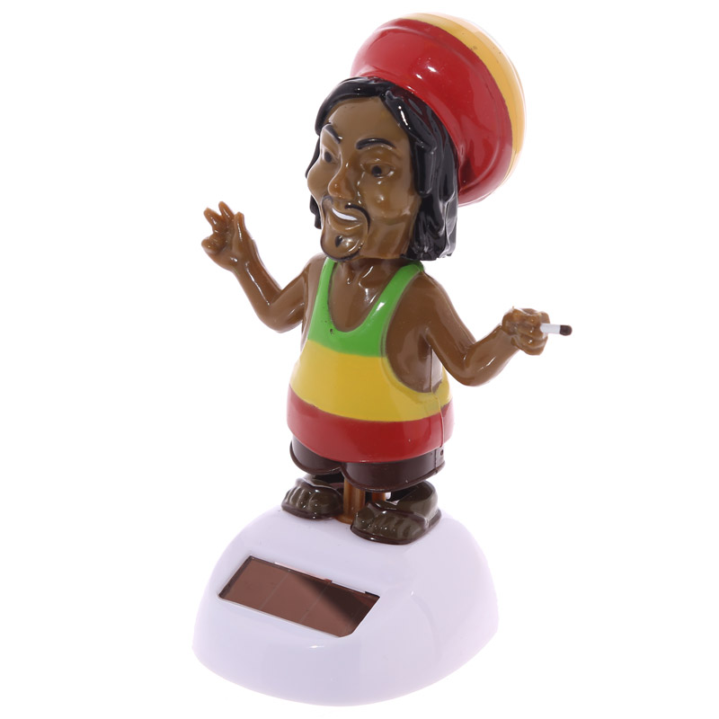 Fun Rasta Solar Powered Solar Pal
