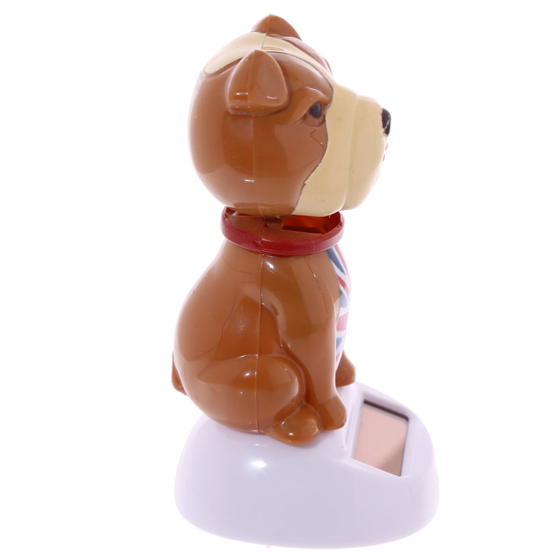 Fun UK Bulldog Solar Powered Solar Pal