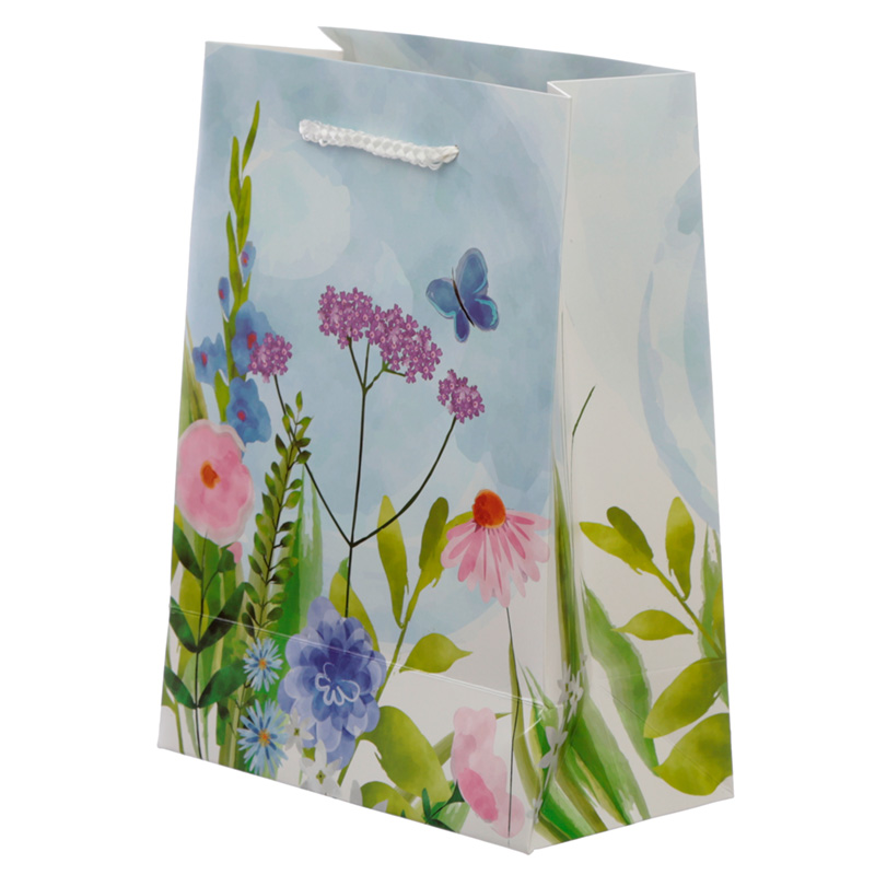 Botanical Gardens Design Medium Gift Bag