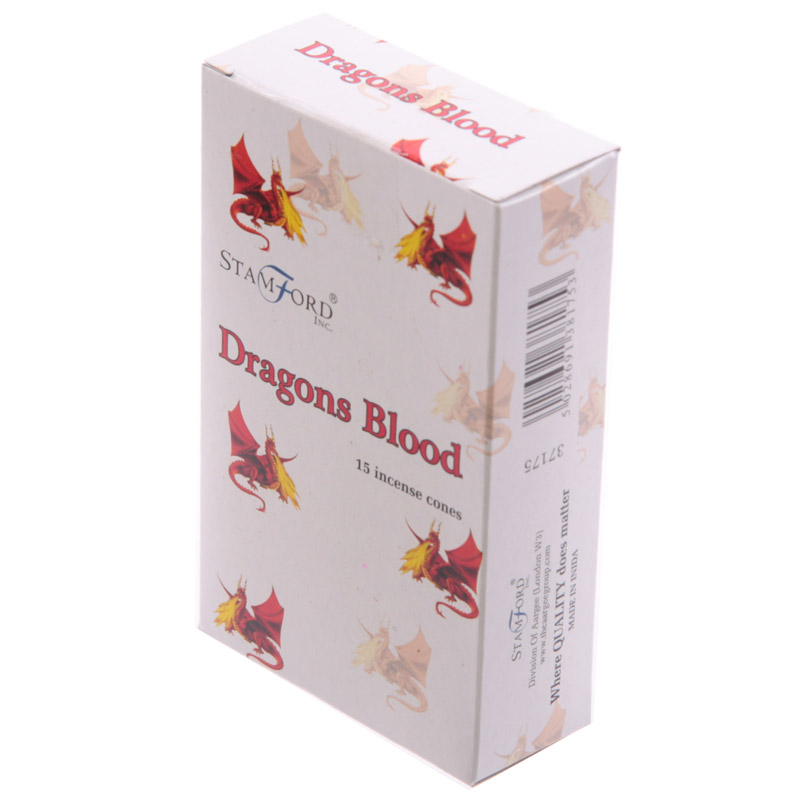 Stamford Hex Incense Cones - Dragons Blood