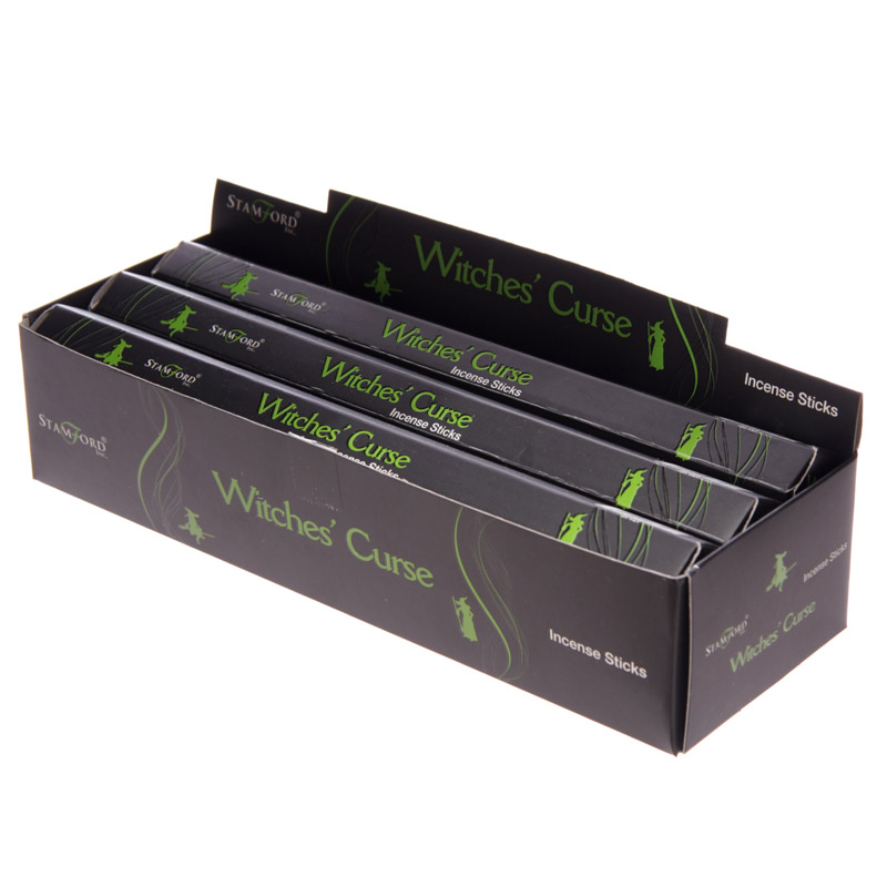 Stamford Black Incense Sticks - Witches Curse