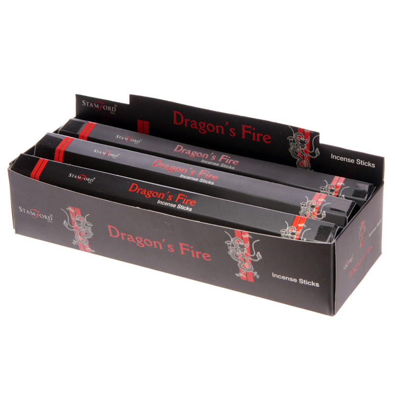 Stamford Black Incense Sticks - Dragons Fire