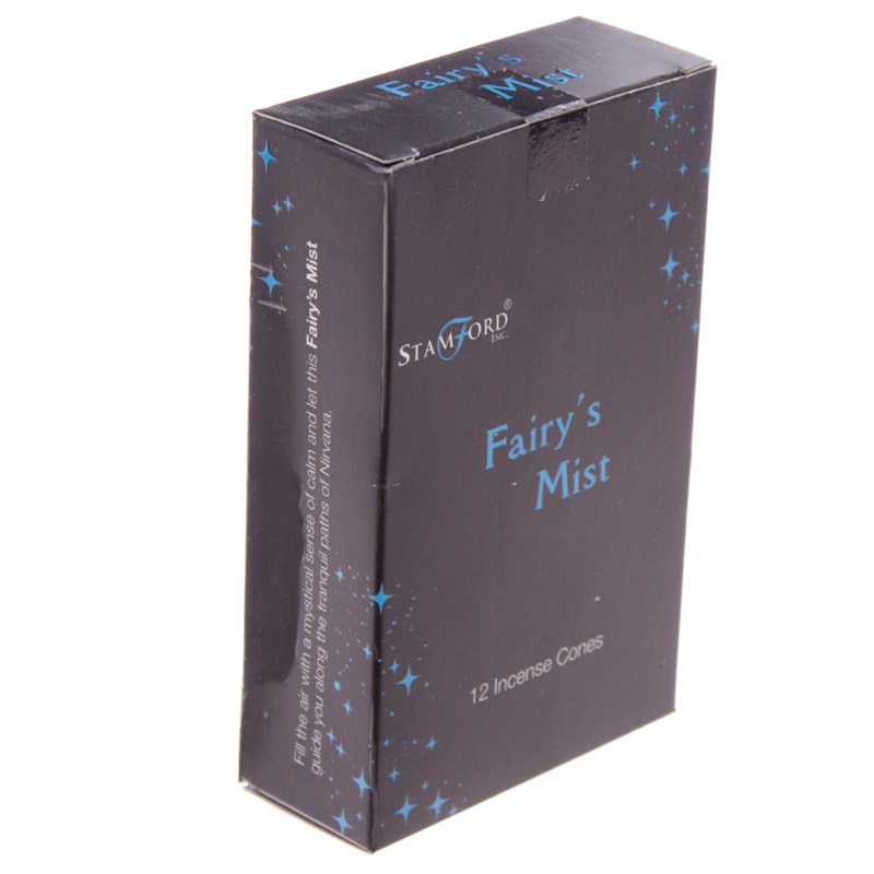 Stamford Black Incense Cones - Fairys Mist