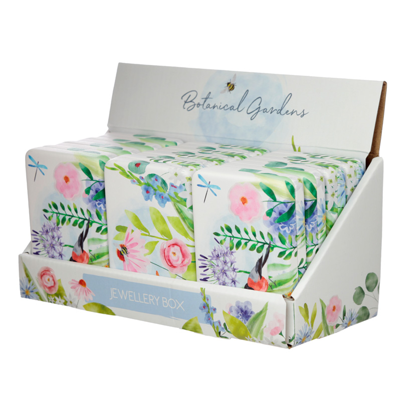 Collectable Jewellery Box - Botanical Gardens