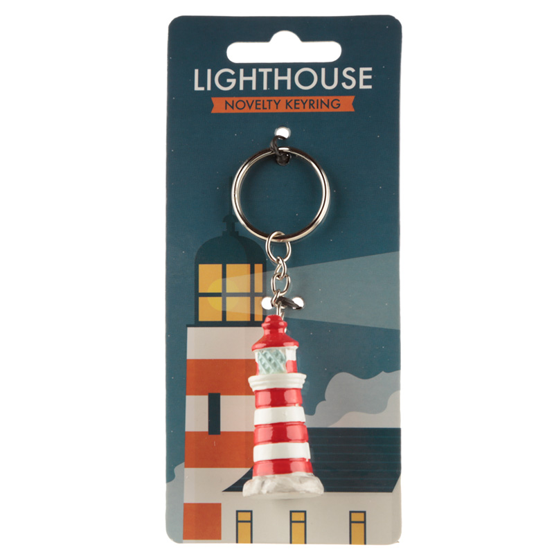 Novelty Collectable Lighthouse Keyring