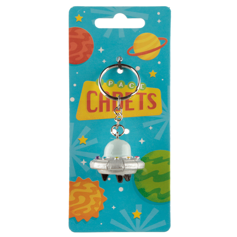 Novelty Collectable Spaceship Keyring