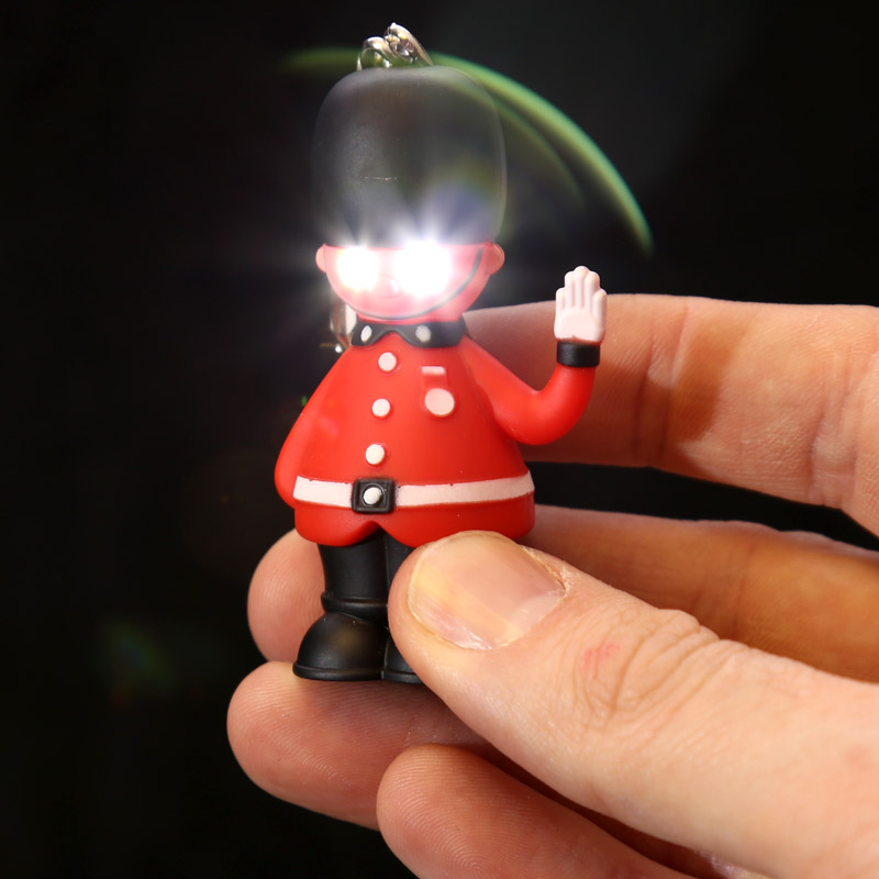 Rule Britannia Light and Sound Guardsman Keyring