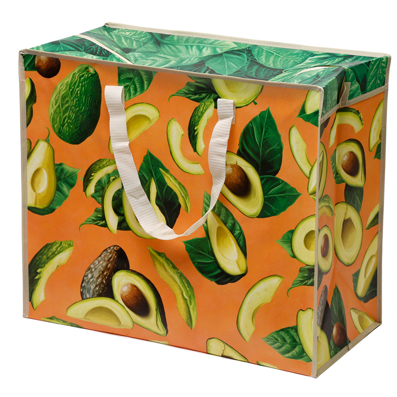 Fun Practical Laundry & Storage Bag - Avocado