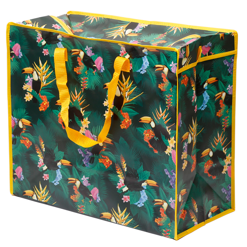 Fun Practical Laundry & Storage Bag - Toucan Party