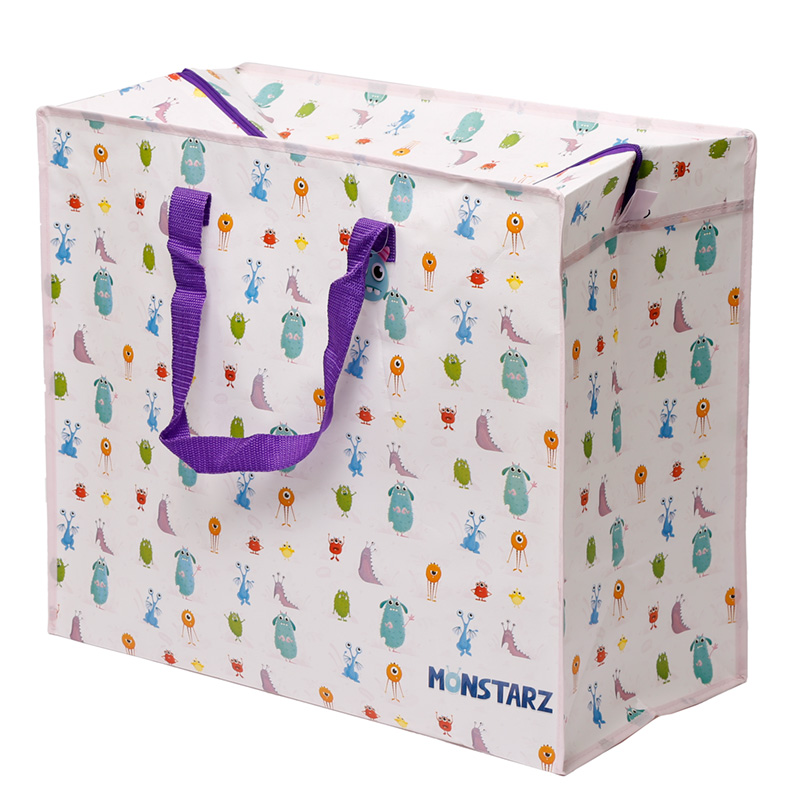Fun Practical Laundry & Storage Bag - Monsters