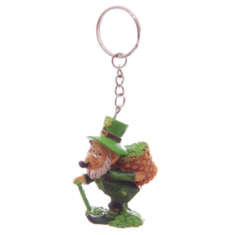 Fun Collectable Lucky Leprechaun Keyring