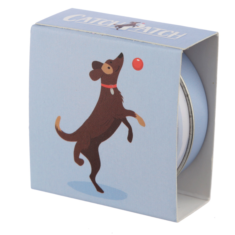 Funky Lip Balm in a Tin - Catch Patch Dog Design