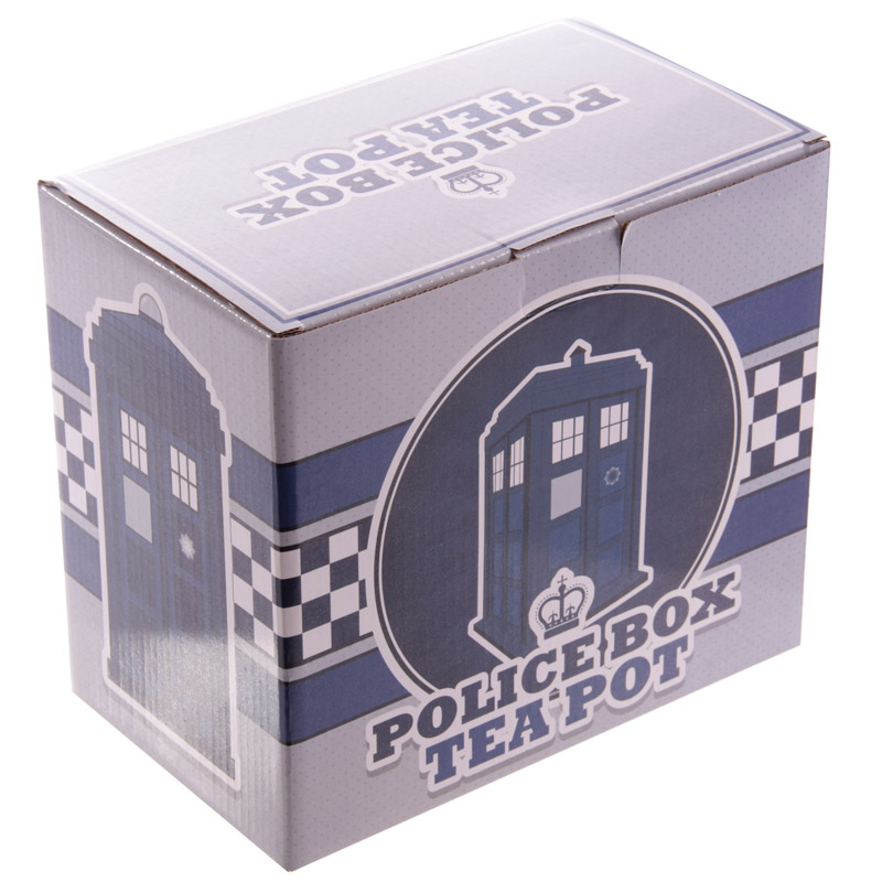 Novelty Police Box Shaped Teapot