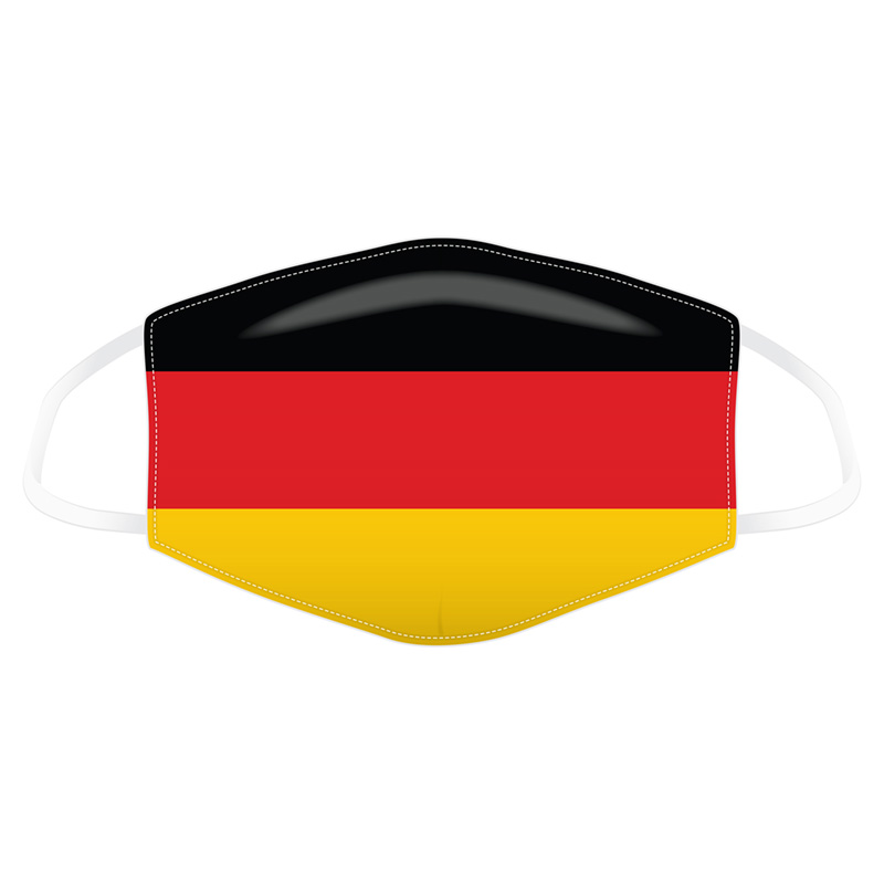 German Flag Reusable Face Covering - Large