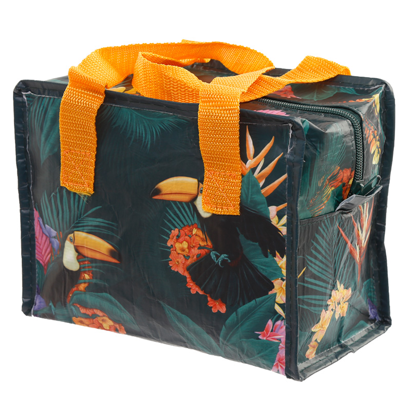 Toucan Party Zip Up Lunch Bag
