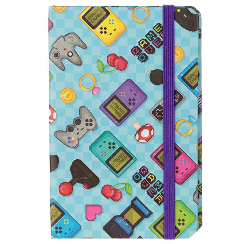 Collectable Hardback Notebook - Retro Gaming Design
