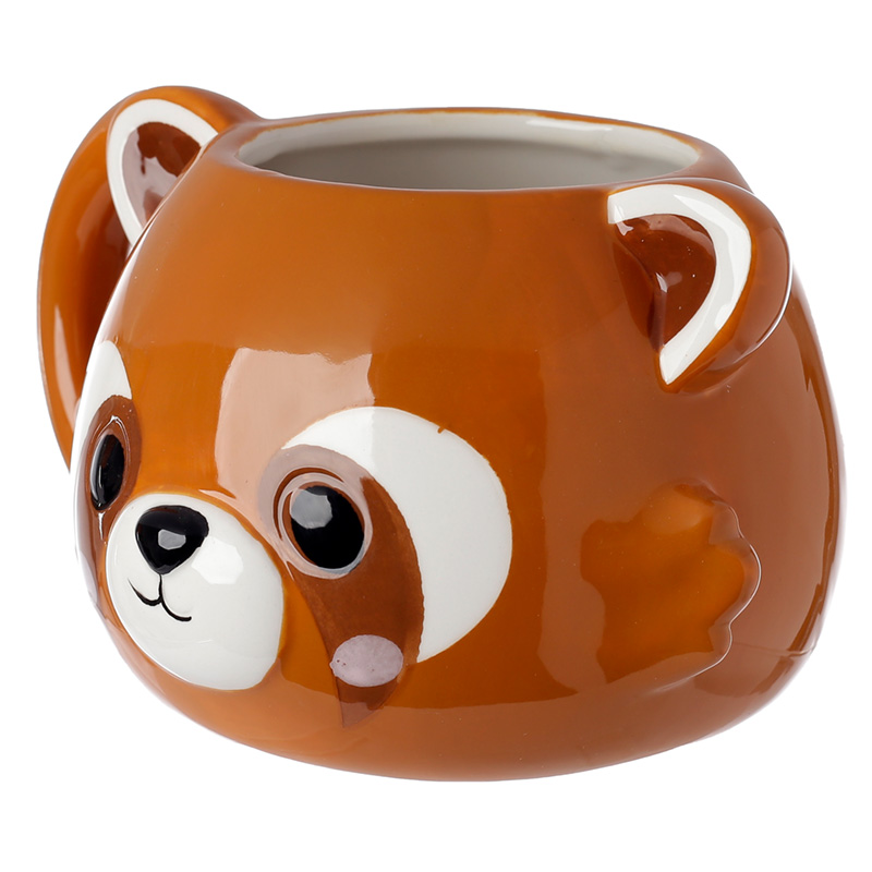 Cute Red Panda Cutiemals Ceramic Mug