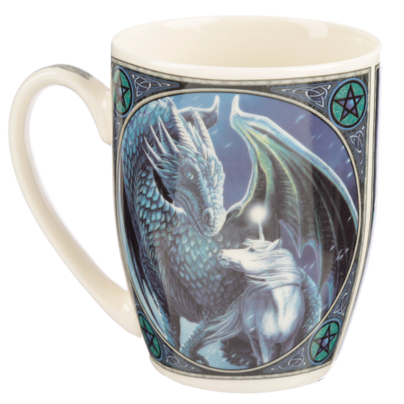 Lisa Parker New Bone China Mug - Protector of Magick Dragon