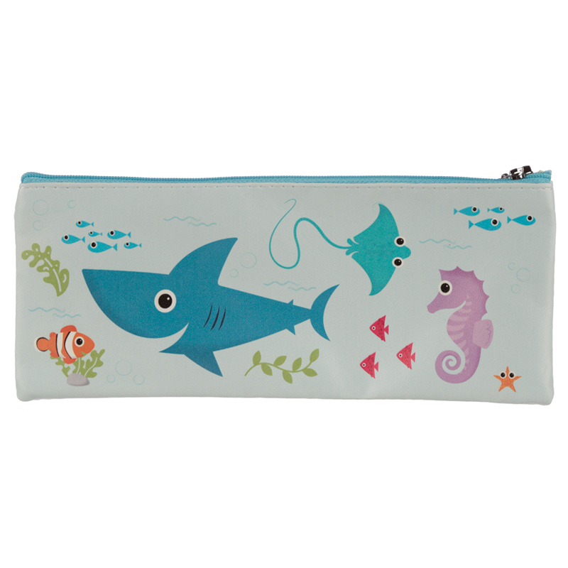 Fun Novelty Pencil Case - Sealife Design