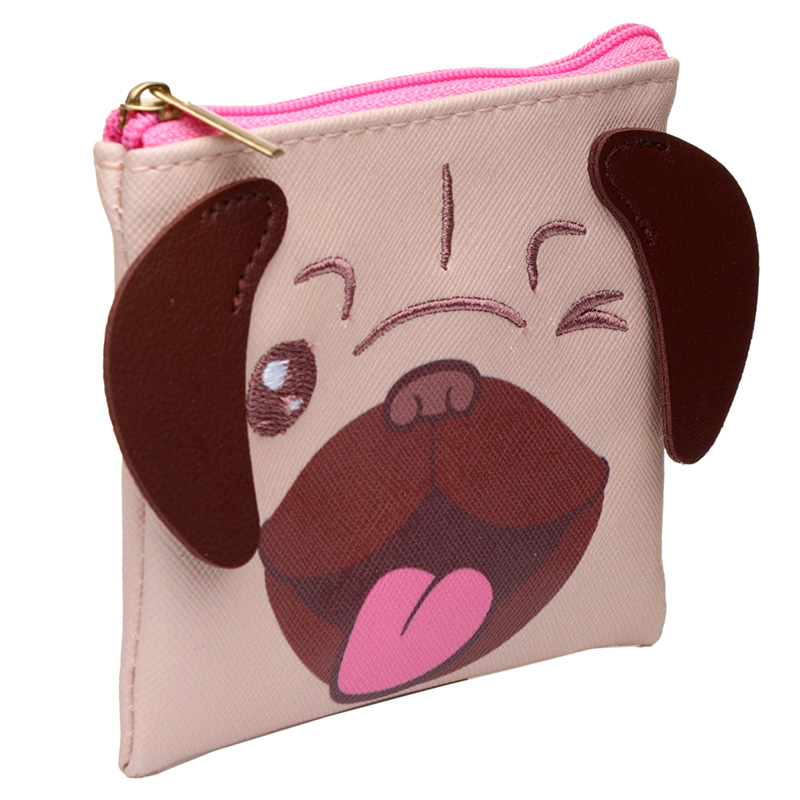 Handy PVC Purse - Mopps Pug