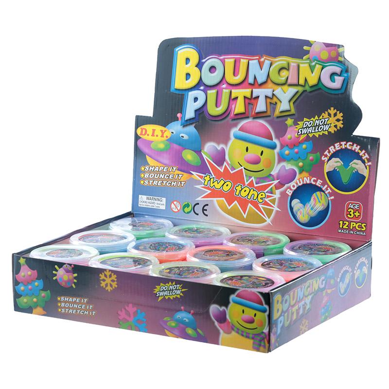 Fun Kids Bouncing Putty Two Tone 24794 Purple Puffin