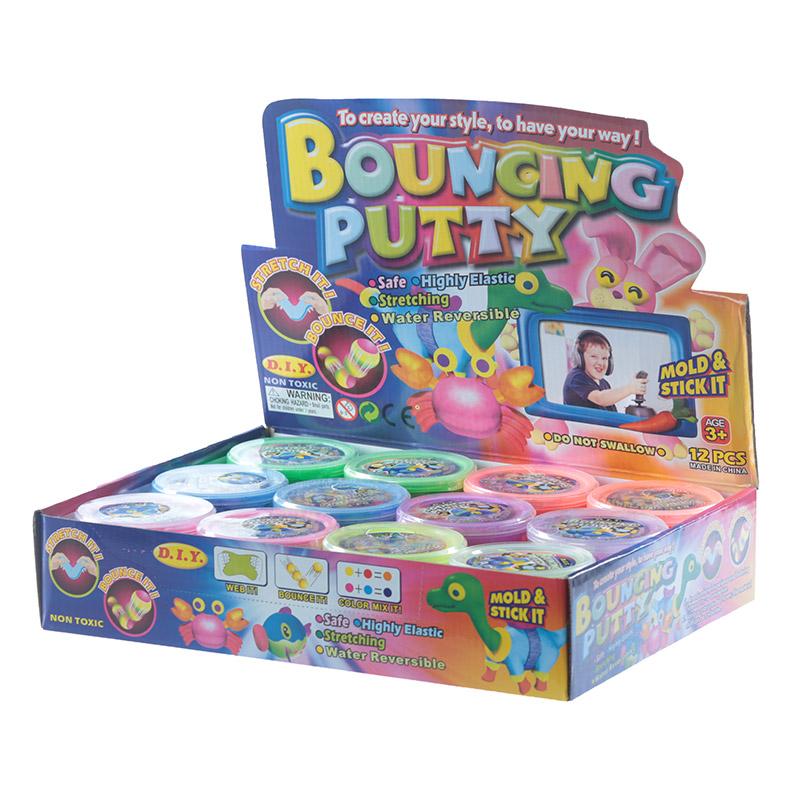 Fun Kids Bouncing Putty 24795 Purple Puffin