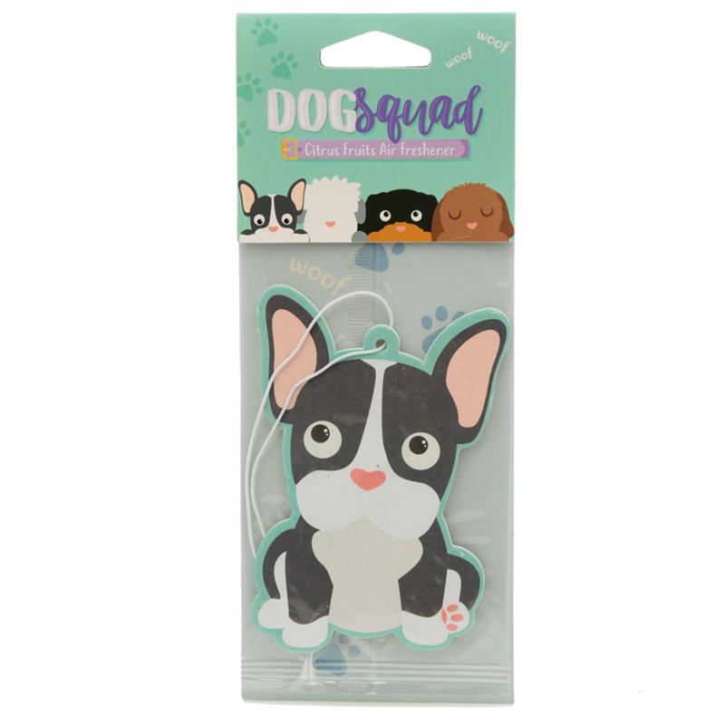 Dog Squad French Bulldog Citrus Scented Air freshener