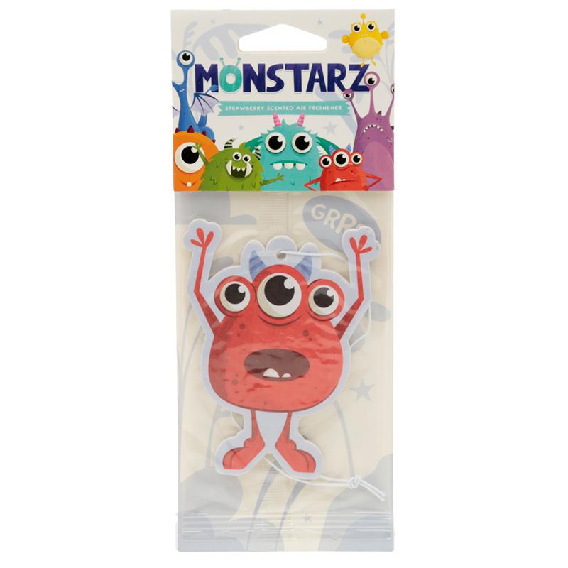 Red Monstarz Monster Strawberry Scented Air freshener