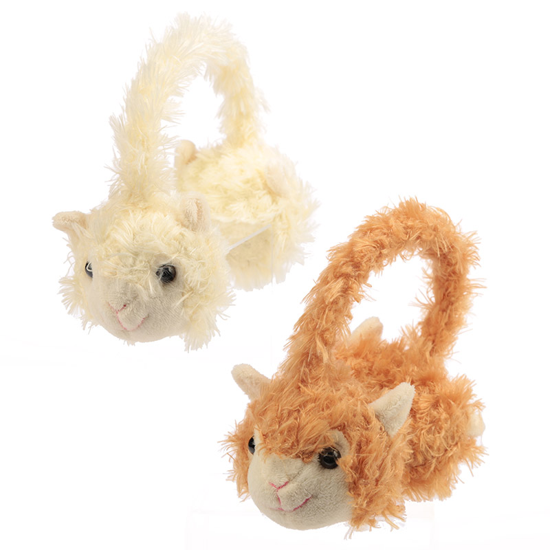 Fun Plush Llama Earmuffs One Size