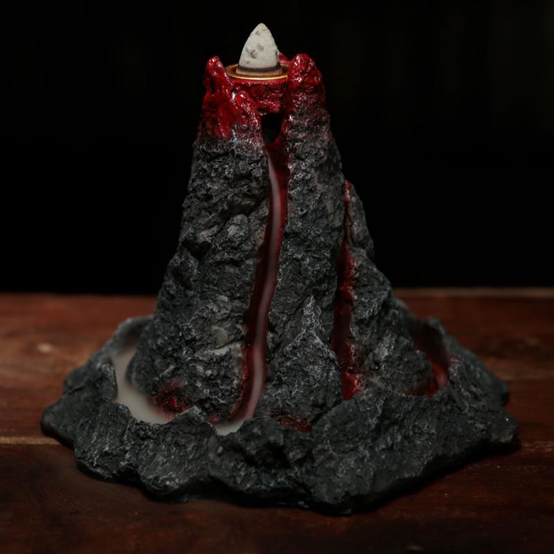 Volcano Backflow Incense Burner