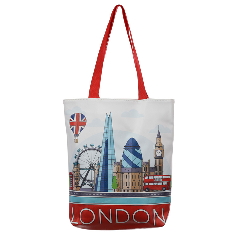 London Icons Tote Shopping Bag