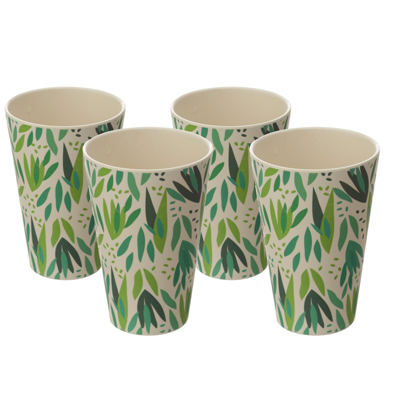 Bamboo Composite Willow Cup Set of 4