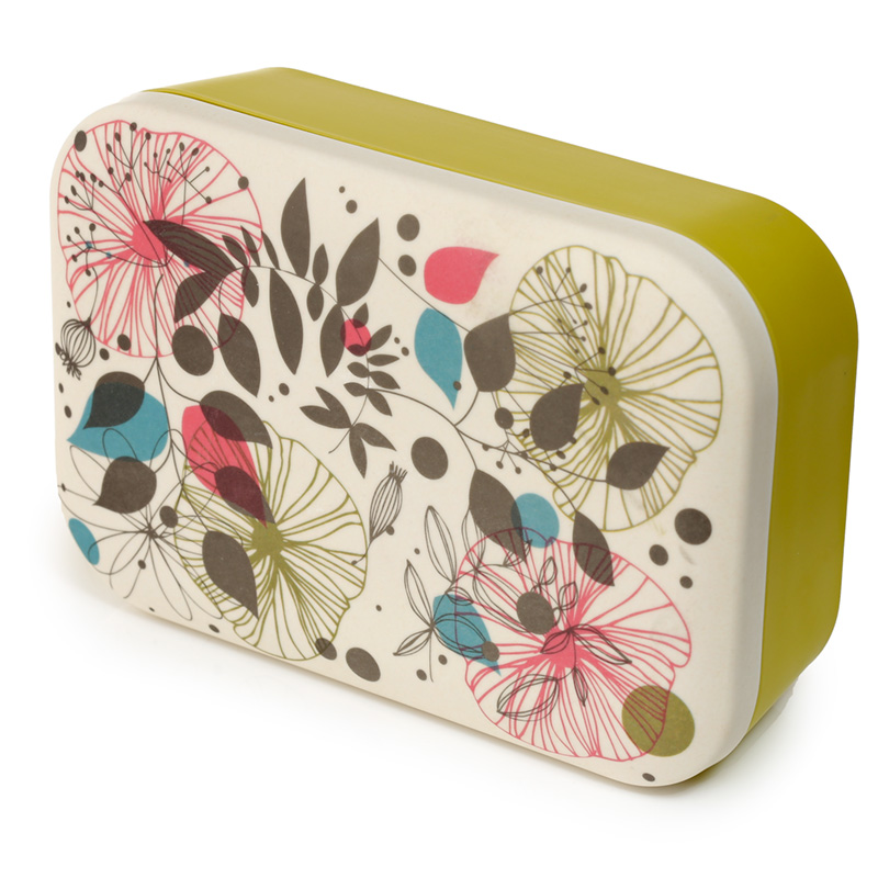 Bamboo Composite Botanical Wisewood Lunch Box