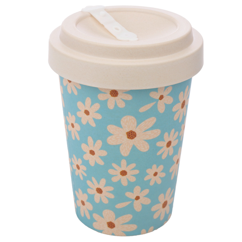 Bamboo Composite Oopsie Daisy Screw Top Travel Mug